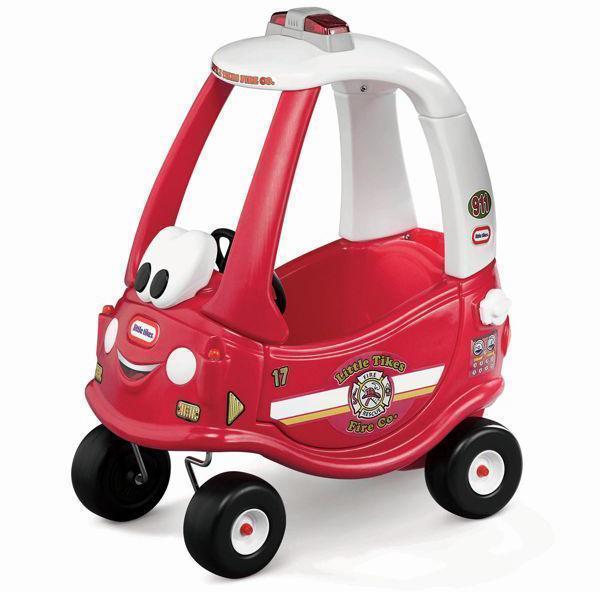 Rød Coupe Bil som brandbil - Rød Coupe Bil som brandbil