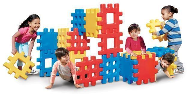 Image of   Little%20Tikes%20Big%20Waffle%20Blocks - Little%20Tikes%20Big%20Waffle%20Blocks