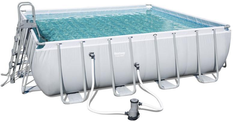 Power Steel pool 24.031L 488x488x122 cm - Power Steel pool 24.031L 488x488x122 cm