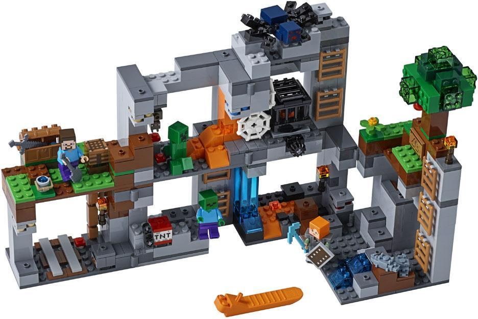 Image of Klippeeventyret - Lego Minecraft 21147 (22-021147)