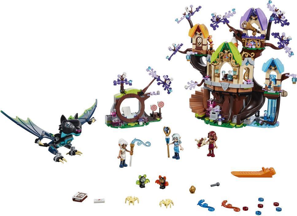Image of Flagermusangreb ved Elvenstar-træet - LEGO Elves 41196 (22-041196)