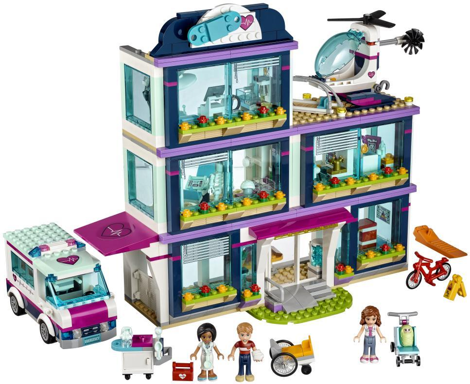 Image of Heartlake hospital - LEGO 41318 Friends Heartlake. (22-041318)
