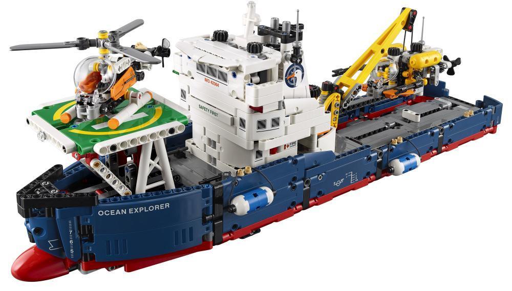 Image of Forskningsskib - LEGO 42064 Technic (22-042064)