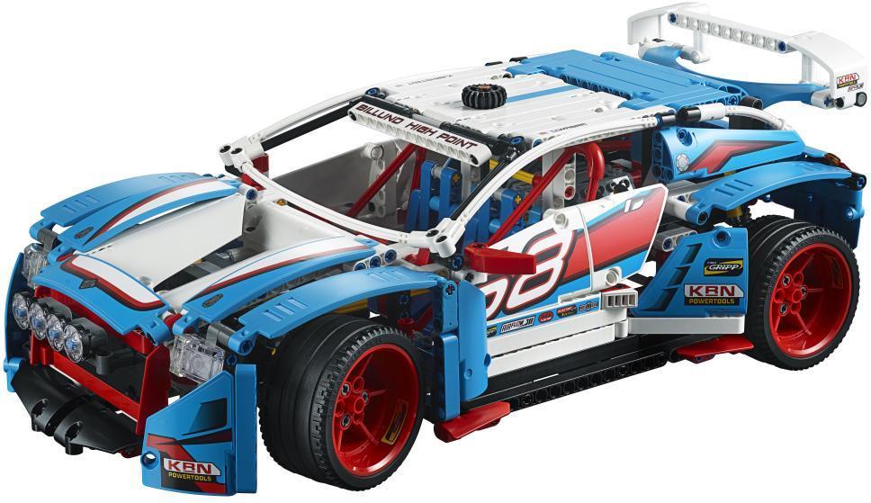 Rallybil - Rallybil