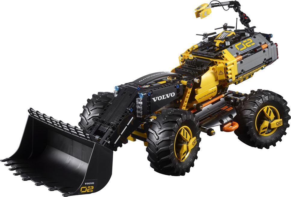 Image of Volvo konceptkøretøj - Gummiged ZEUX - Lego Technic 42081 (22-042081)