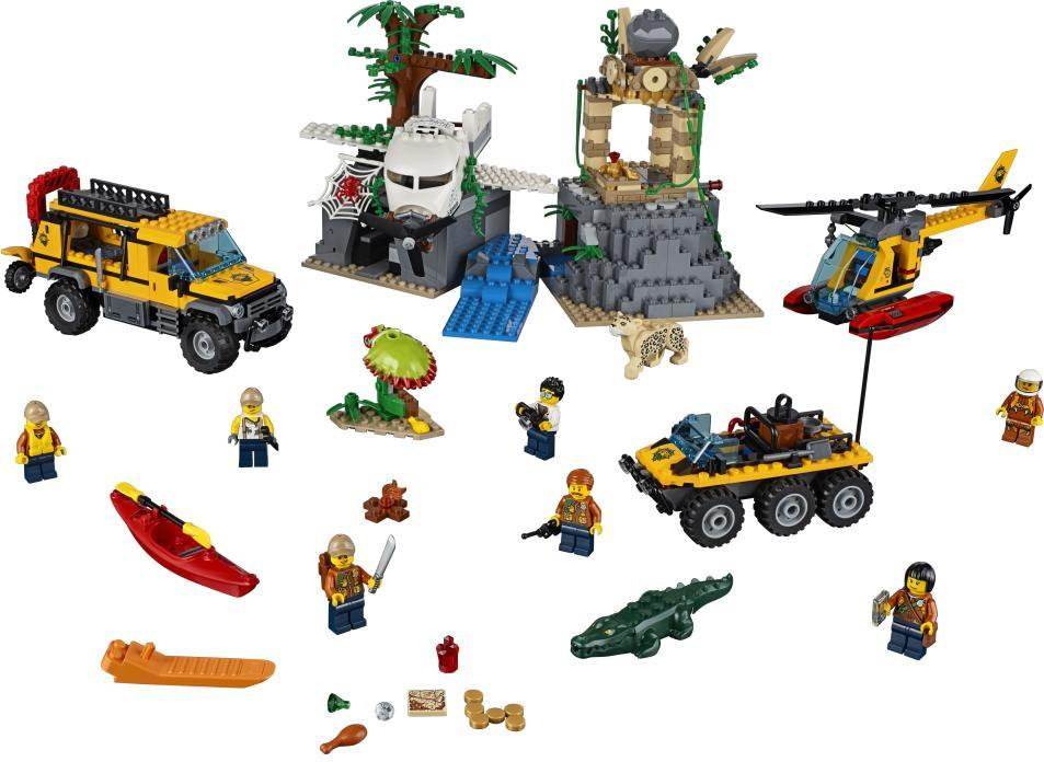 Image of Jungleudforskning - LEGO 60161 City (22-060161)