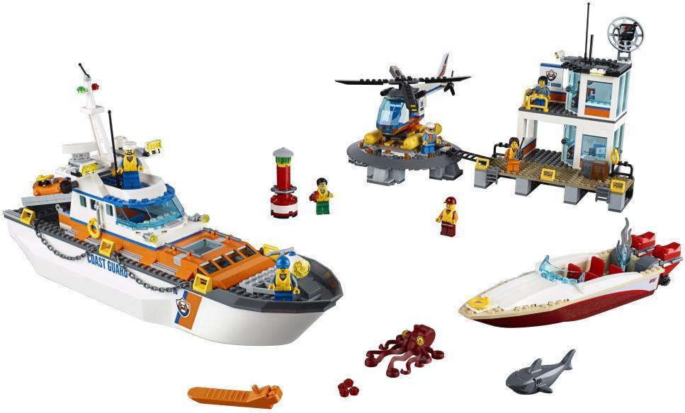 Image of Kystvagtens hovedkvarter - LEGO 60167 City Coast Guard (22-060167)