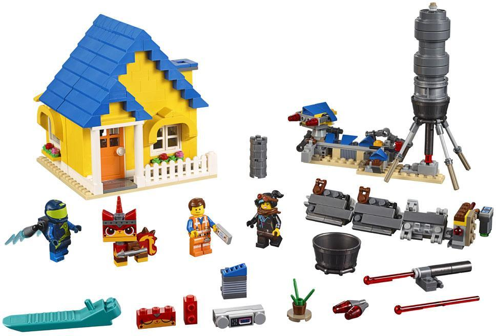 Image of Emmets drømmehus/redningsraket! - Lego The Movie 2 70831 (22-070831)
