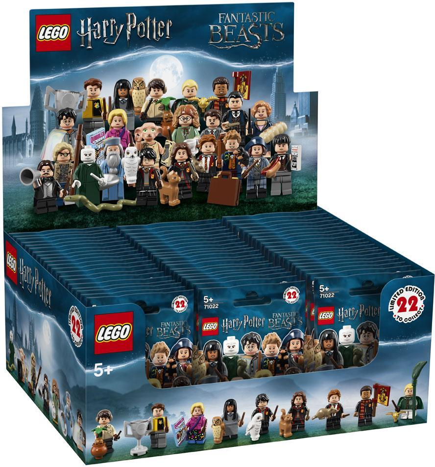 Image of   Minifigurer%20Harry%20Potter%202018%20Kasse - Minifigurer%20Harry%20Potter%202018%20Kasse