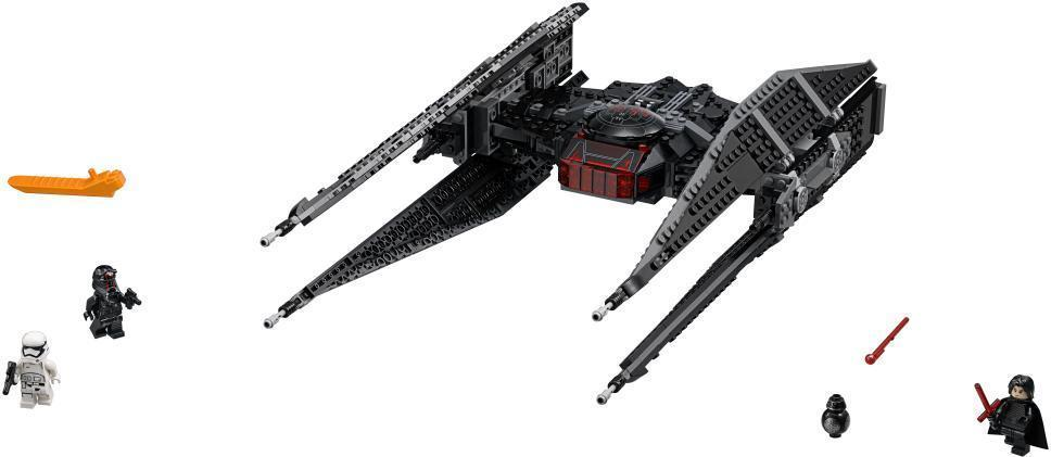 Image of Kylo Rens TIE Fighter - LEGO 75179 Star Wars Episode VII (22-075179)
