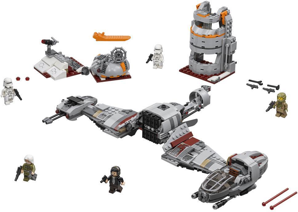 Image of Forsvaret af Crait - LEGO Star Wars 75202 (22-075202)