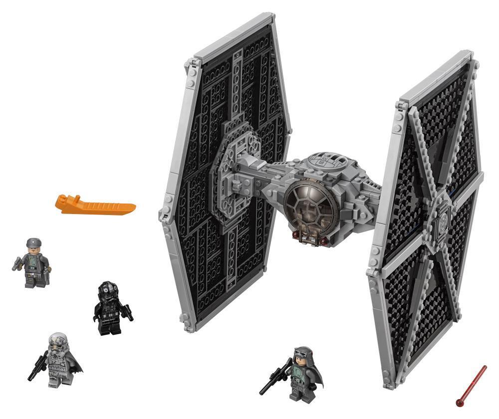 Image of Kejserlig TIE-jager - LEGO Star Wars 75211 (22-075211)