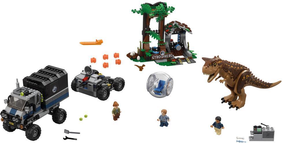 Image of Gyrokugleflugt fra carnotaurus - LEGO Jurassic World 75929 (22-075929)