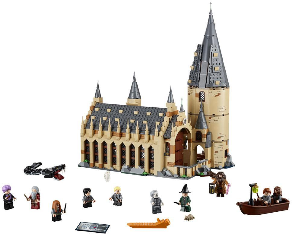 Image of Hogwarts storsal - Lego Harry Potter 75954 (22-075954)