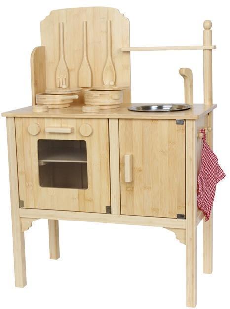 Image of Køkken i Bambus - Legekøkken 004355 (220-004355)