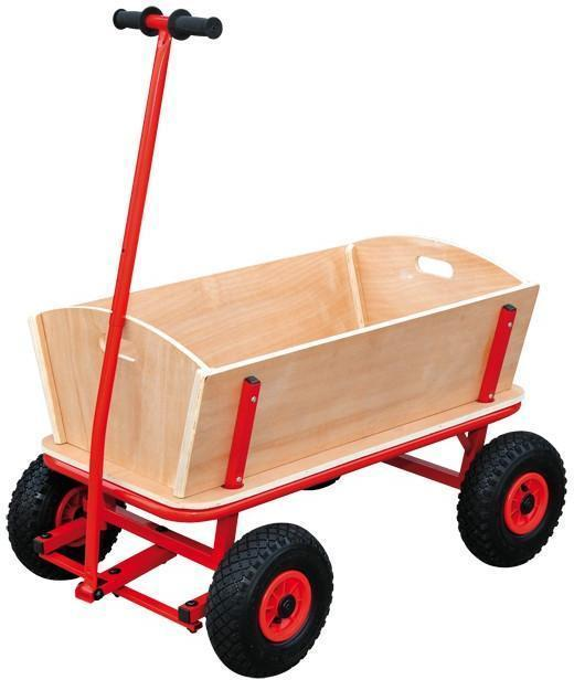 Trækvogn i Træ Maxi - Trækvogn i Træ Maxi