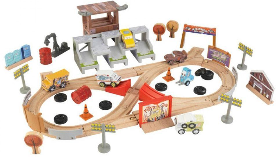 Image of 50 piece Thunder Hollow Track Set - Cars 3 racerbane 17212 (226-017212)