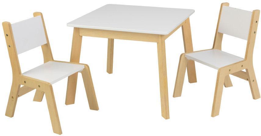 Image of Bord med 2 Stole Hvid - Kidkraft børnemøbler 27025 (226-027025)
