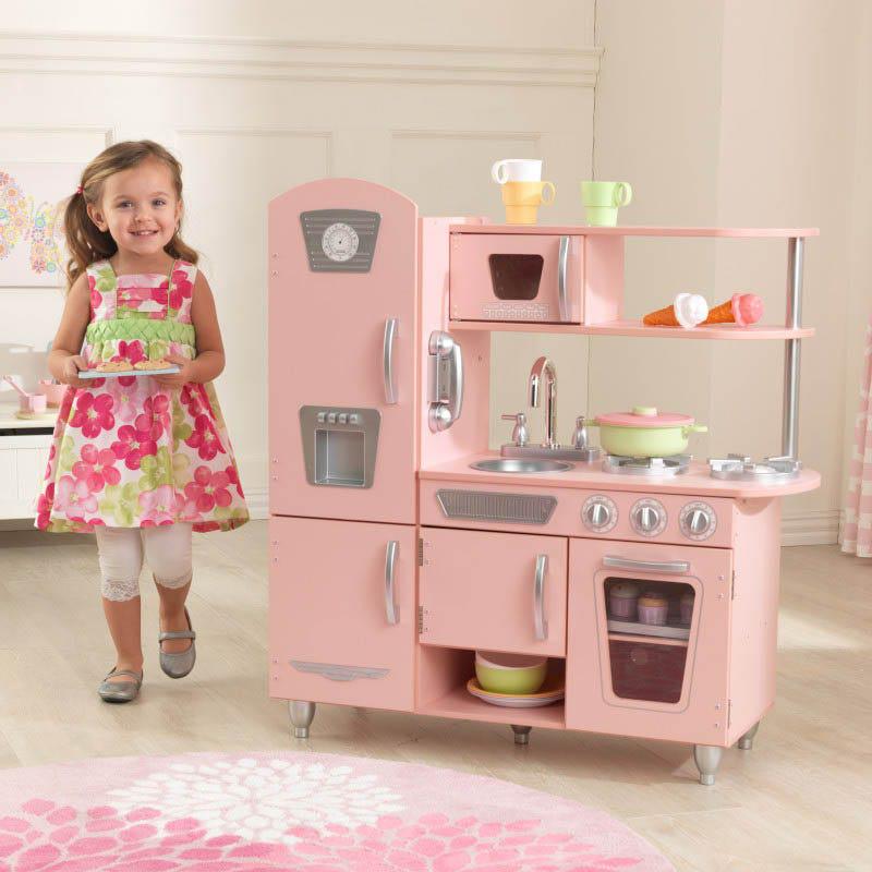 Legekøkken Pink Vintage - Legekøkken Pink Vintage