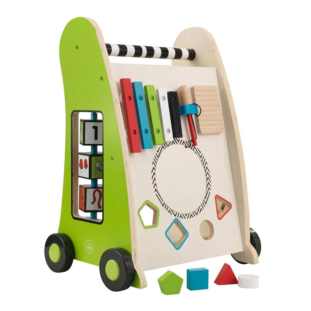 Image of Aktivitetsvogn Push a Long - Kidkraft Baby legetøj 63246 (226-063246)