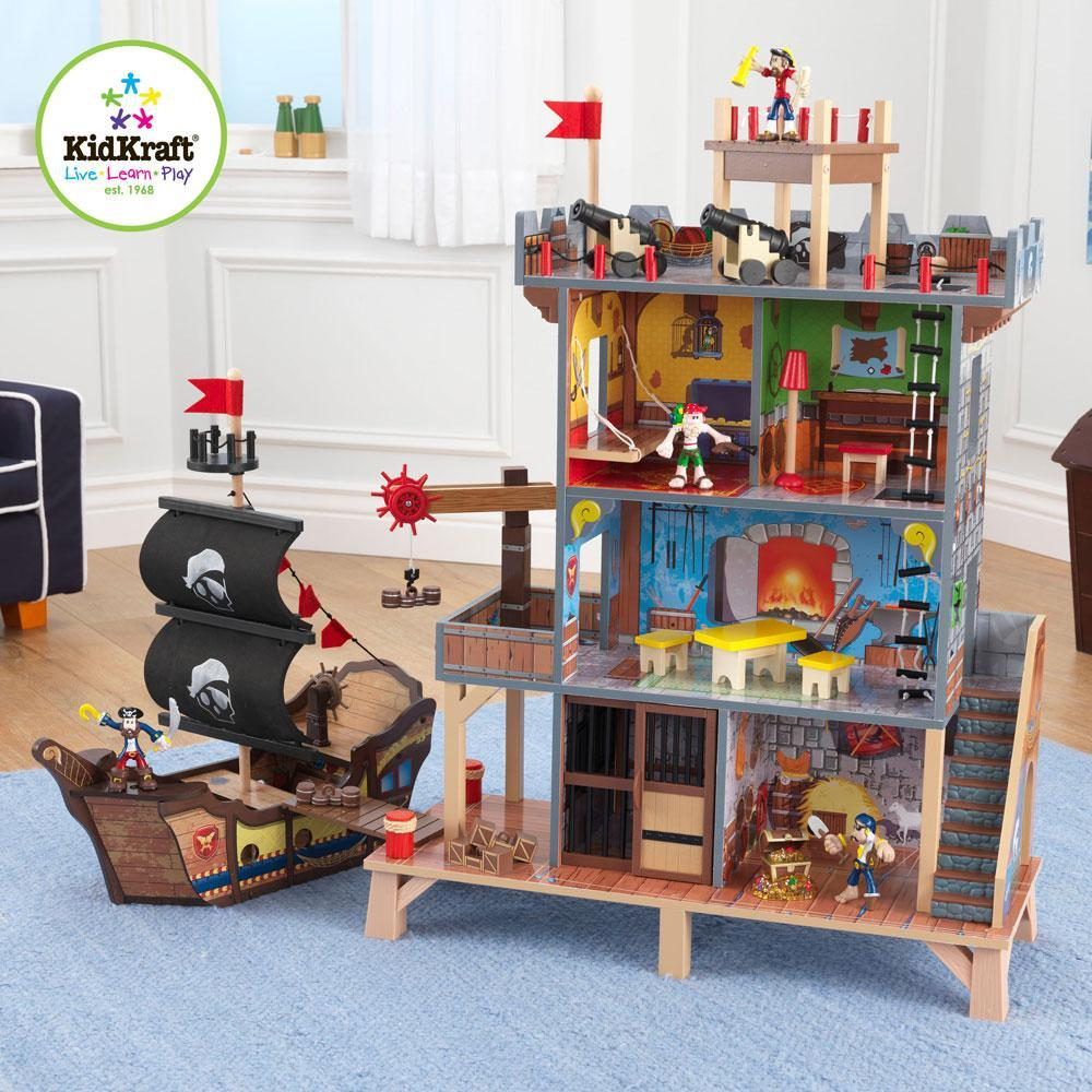 kidkraft – Pirat skjulested og skib - kidkraft pirates cove play set fra eurotoys