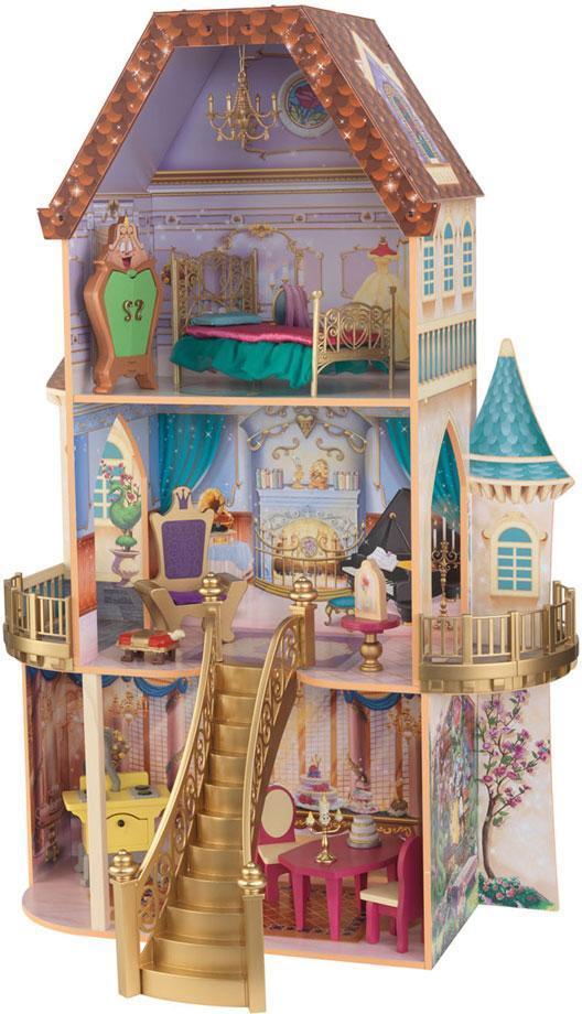 Dukkehus Prinsesse Belle - Dukkehus Prinsesse Belle