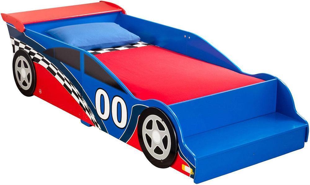 Image of Racecar Juniorseng - Kidkraft børneseng 76038 (226-076038)