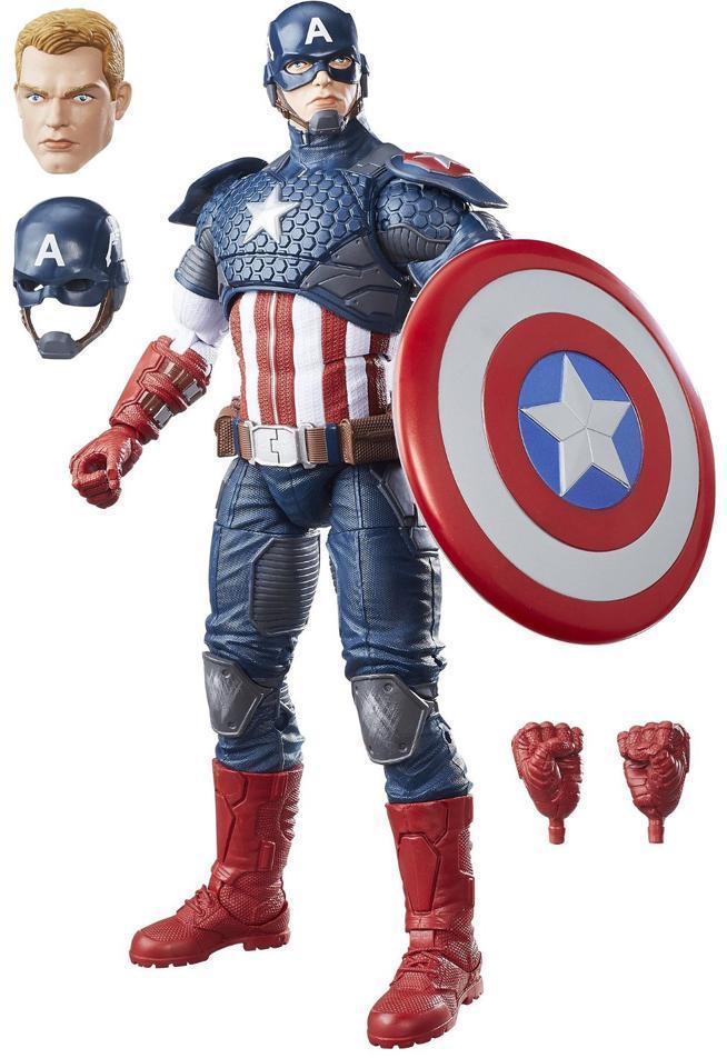 Captain America deluxe figur 30 cm - Captain America deluxe figur 30 cm