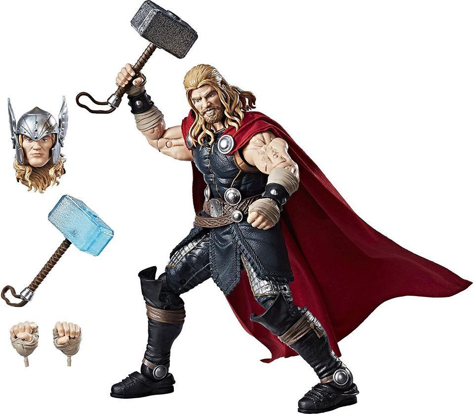 Thor deluxe figur 30 cm m/tilbehør - Thor deluxe figur 30 cm m/tilbehør