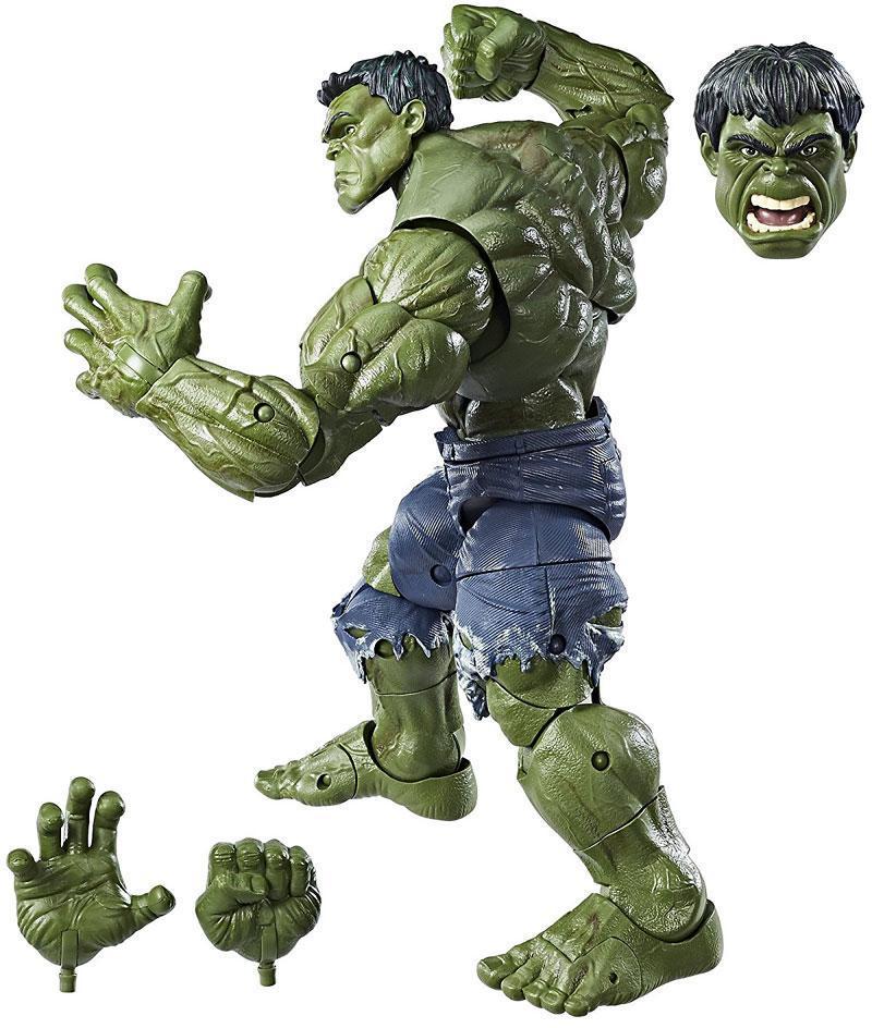 Hulk deluxe figur 36 cm m/tilbehør - Hulk deluxe figur 36 cm m/tilbehør