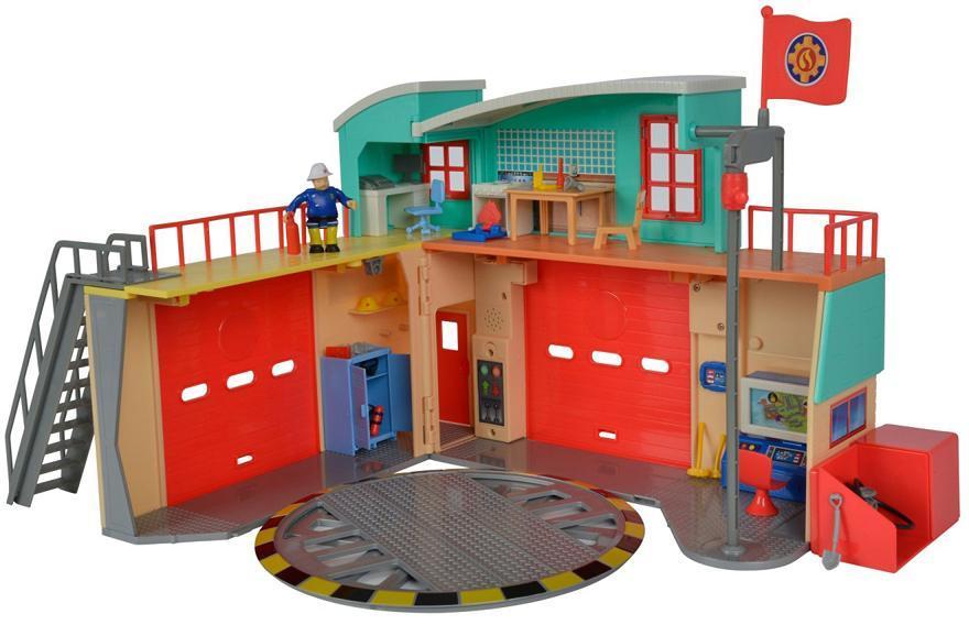 Image of Brandmand Sam brandstation lys og lyd - Brandmand Sam playset 982829 (241-982829)