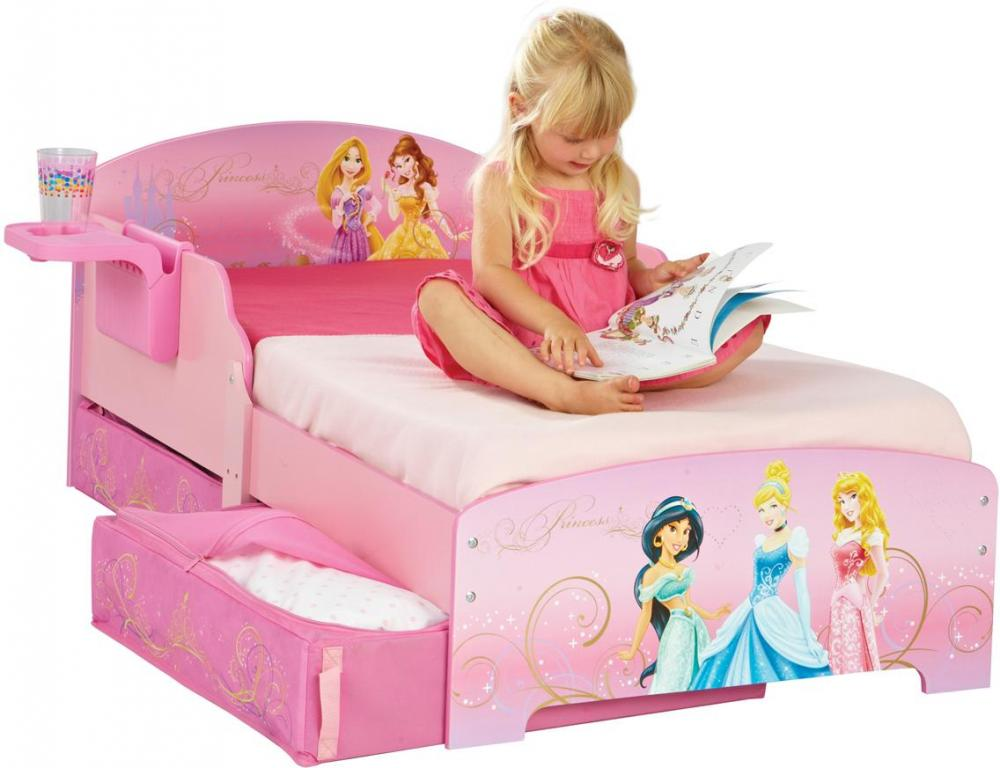 Image of Disney Prinsesse juniorseng u. madras - Børnemøbel Disney Princess 642207 (242-642207)