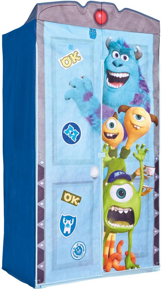 Image of Monsters University Klædeskab i stof - Monsters Børnemøbler 644195 (242-644195)