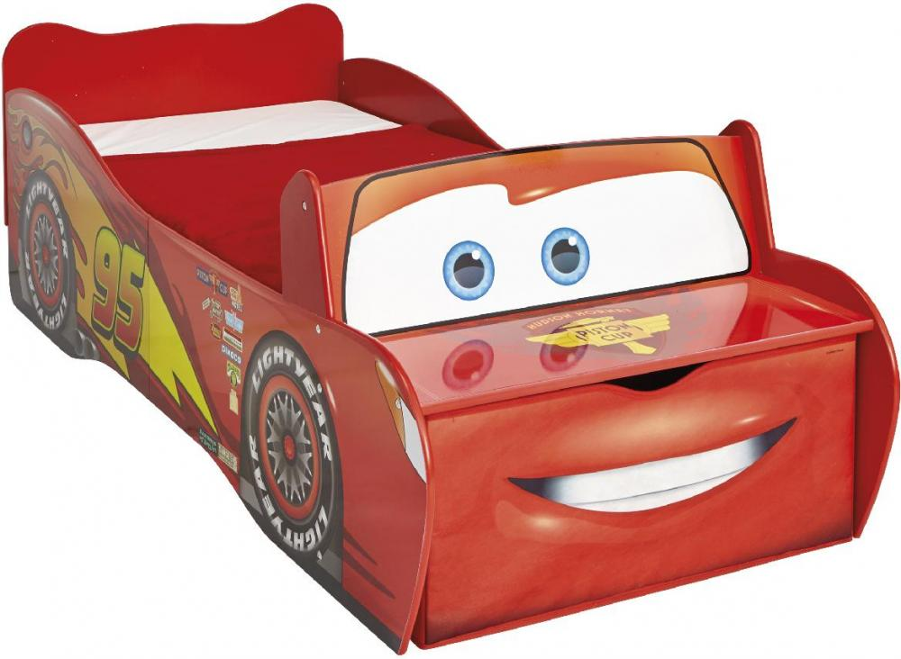 Image of Lynet Mcqueen juniorseng u. madras - Disney Cars Børnemøbel 651896 (242-651896)