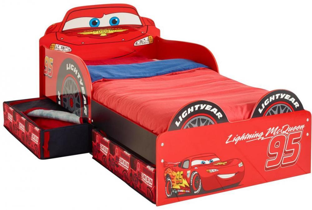 Image of Lynet McQueen juniorseng m. madras, Worlds Apart - Disney Cars Børnemøbler 652336 (242-652336X)
