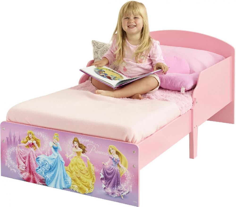 Image of Disney Prinsesse juniorseng m. madras - Disney Princess børneseng 652725 (242-652725X)