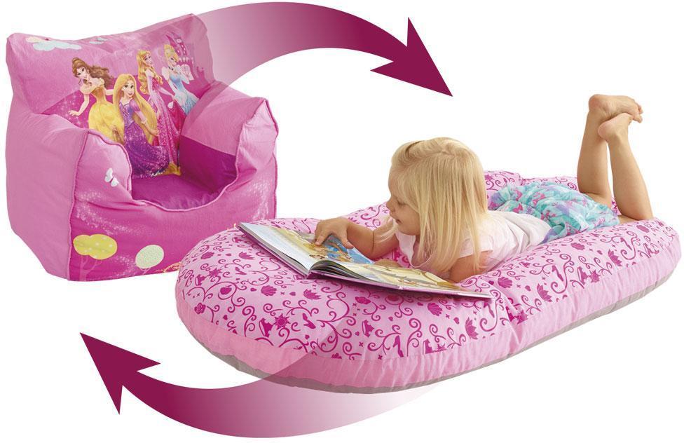 Image of Disney Princess lænestol oppustelig - Disney Prinsesse børnemøbler 653852 (242-653852)