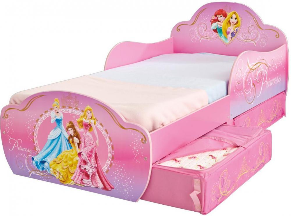 Image of Disney Princess juniorseng uden madras - Disney Prinsesser børneseng 657706 (242-657706)