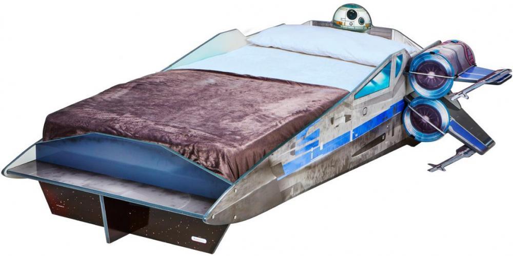 Star Wars X-wing seng uden madras - Star Wars børneseng 658529
