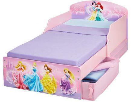 Image of Disney Princess juniorseng med madras - Disney Prinsesser børneseng 658857 (242-658857X)