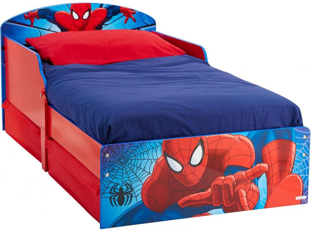 Image of Spider-Man juniorseng m/madras - Spiderman Børnemøbler 658864 (242-658864X)