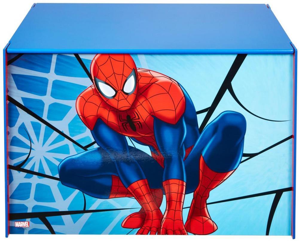Image of Spider-Man legetøjskiste - Spiderman Børnemøbler 660140 (242-660140)