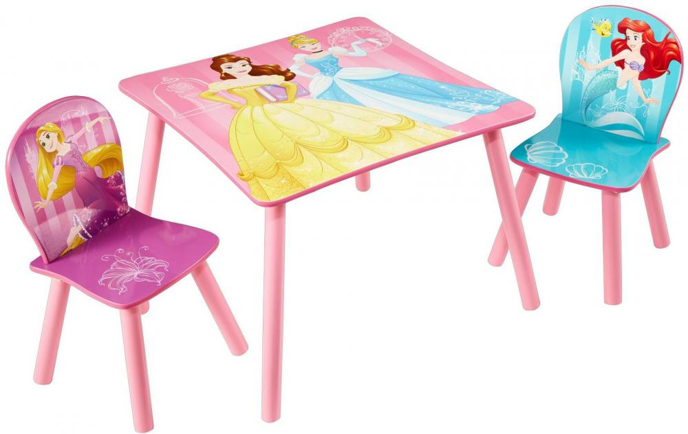 Image of Disney Prinsesser bord og stole - Disney Princess Børnemøbler 661628 (242-661628)