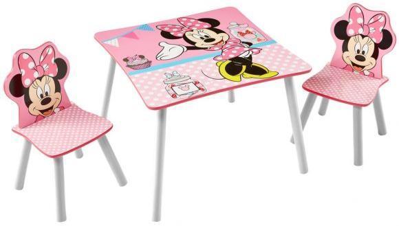 Image of Minnie Mouse Bord og stole - Disney Minnie Børnemøbler 661642 (242-661642)