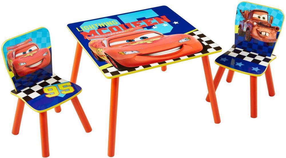 Image of Cars bord og stolesæt - Disney Cars Børnemøbler 661666 (242-661666)