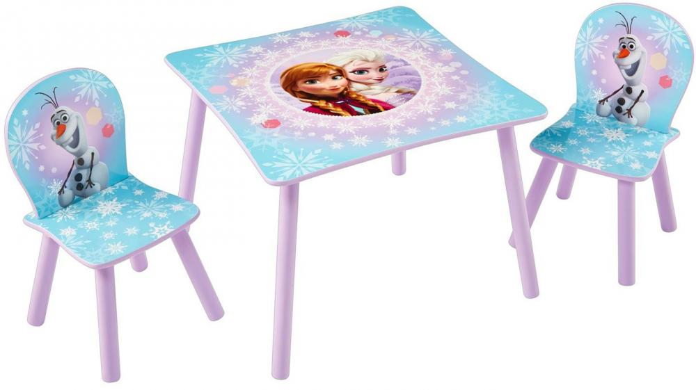 Image of Frost bord og stolesæt - Disney Frozen Børnemøbler 661680 (242-661680)