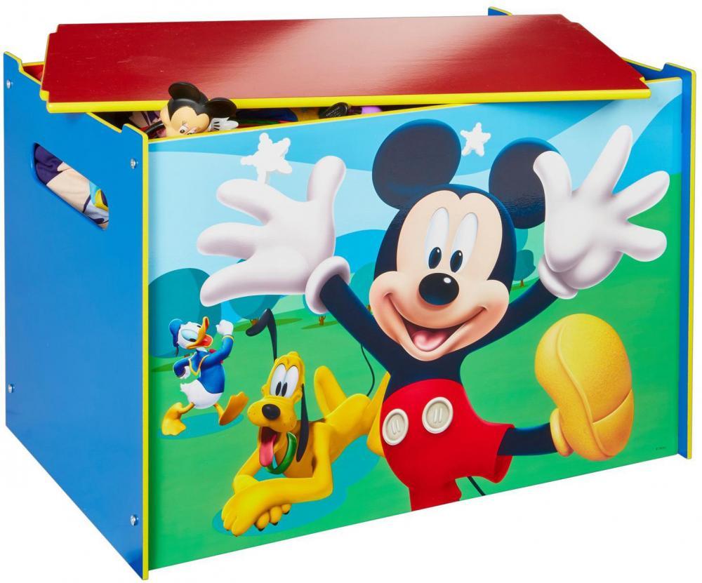 Image of Mickey Mouse Legetøjskiste - Disney Mickey Børnemøbler 662991 (242-662991)