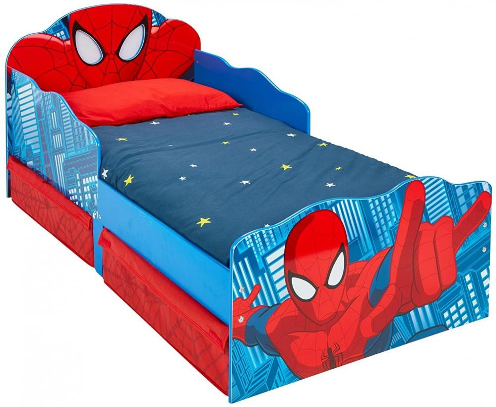 Image of Spider-Man juniorseng m. madras - Spiderman børnemøbler 663554 (242-663554X)