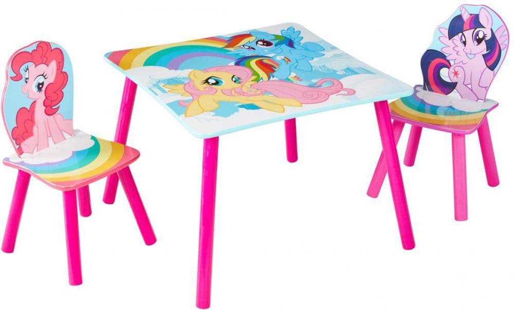 Image of My Little Pony bord og stole - My Little Pony børnemøbler 663578 (242-663578)