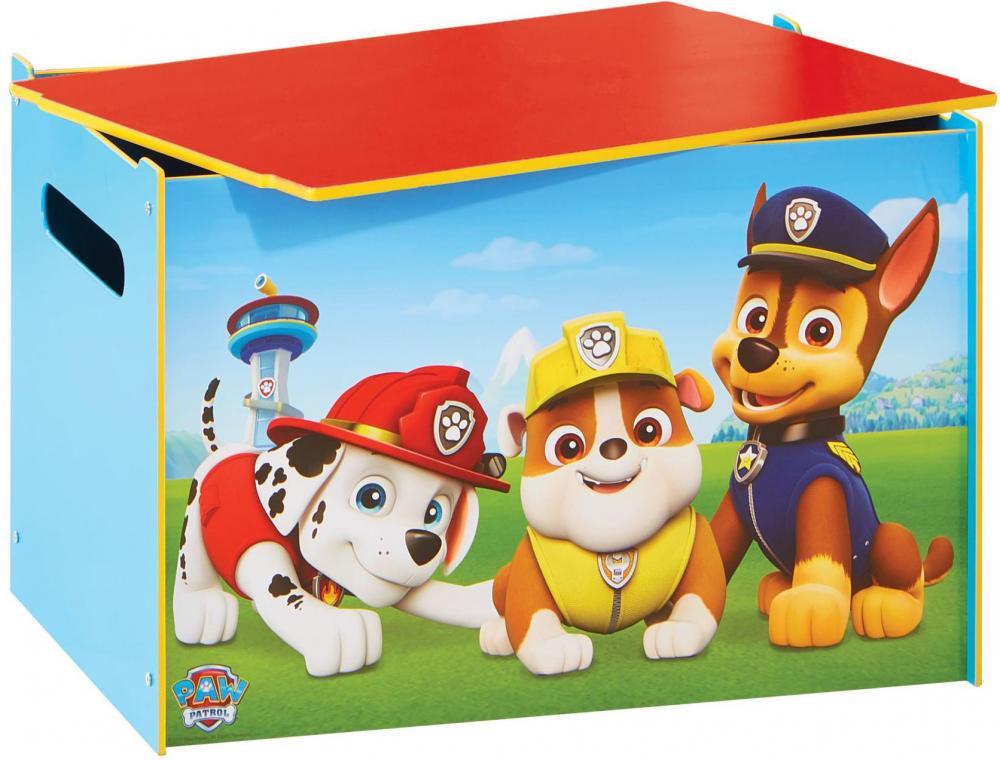 Image of Paw Patrol legetøjskiste - Paw Patrol børnemøbler 665251 (242-665251)